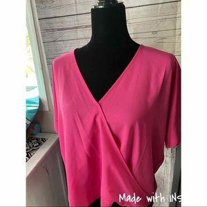 Zenana hot pink shirt